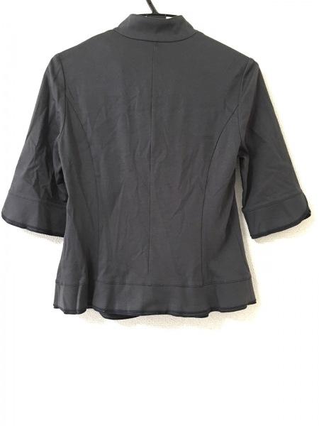 ナラカミーチェ ジャケット サイズ2 M レディース美品  ダークグレー 春・秋物