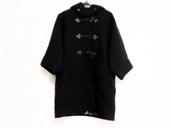 TSUMORI CHISATO(ツモリチサト) ダッフルコート サイズ1 S レディース美品  黒 冬物