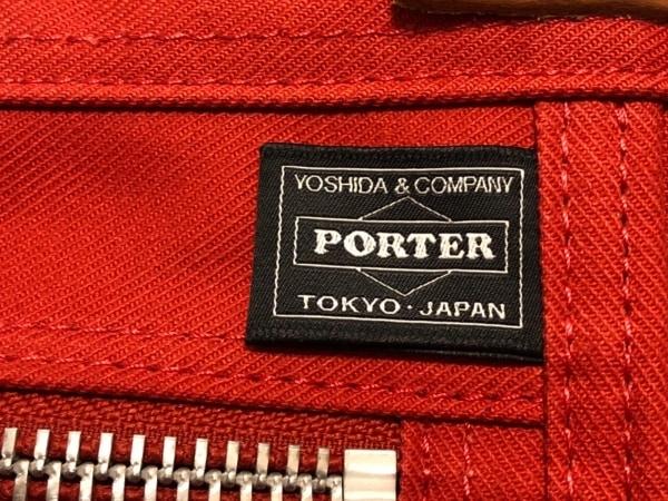 PORTER/吉田(ポーター) トートバッグ美品  - レッド キャンバス×レザー