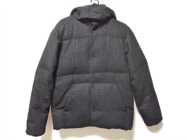 アールニューボールド ダウンジャケット サイズL メンズ 黒×ブラウン×マルチ 冬物