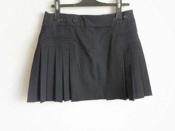 PAOLA FRANI(パオラ フラーニ) ミニスカート サイズ40 M レディース 黒