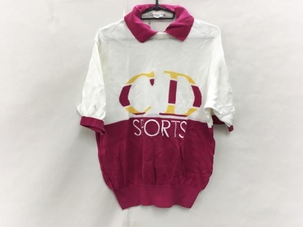 クリスチャンディオールスポーツ 半袖セーター サイズL レディース美品