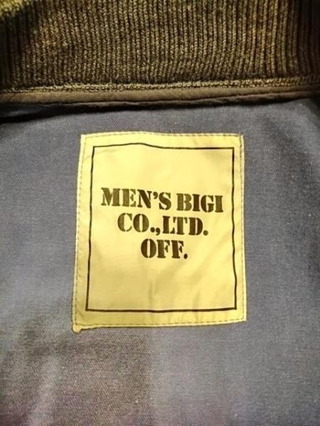 MEN'SBIGI(メンズビギ) ブルゾン メンズ ブルー×グレー 春・秋物