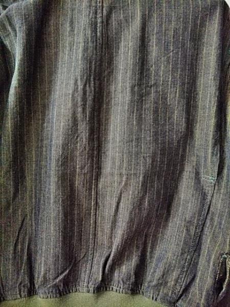 メンズビギ ブルゾン サイズM メンズ美品  ネイビー×グリーン ジップアップ/春・秋物
