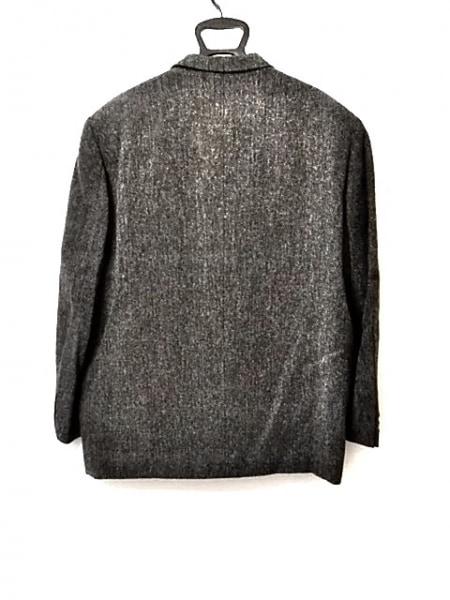 コムデギャルソンオム ジャケット サイズM メンズ美品  ネイビー×グレー 肩パッド
