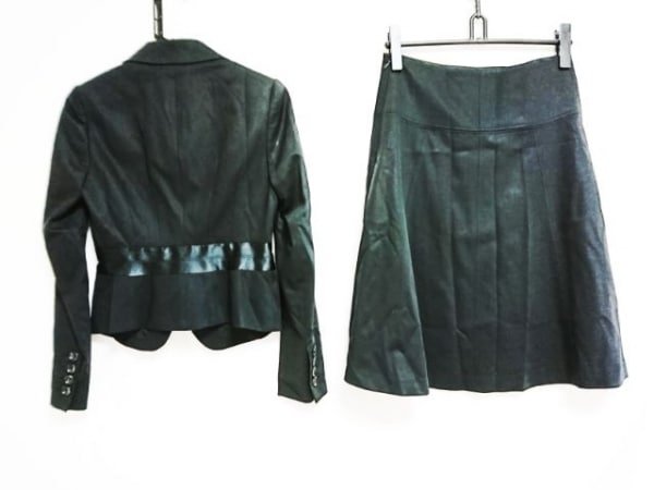 theory luxe(セオリーリュクス) スカートスーツ サイズ38 M レディース 黒 肩パッド