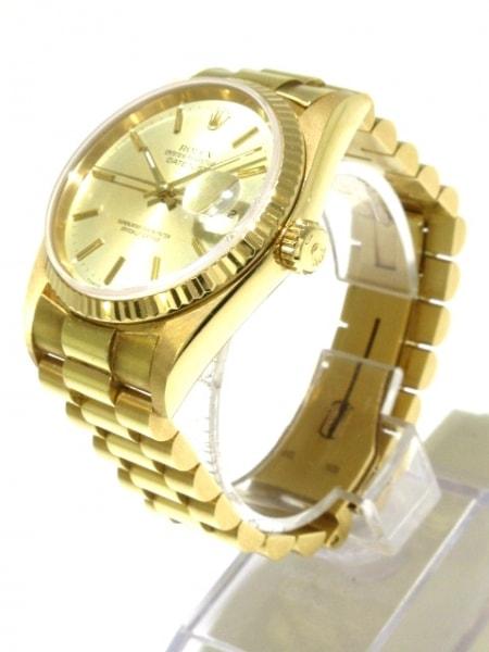 ROLEX(ロレックス) 腕時計 デイトジャスト 16018 メンズ ゴールド 2