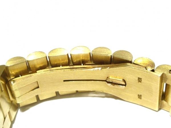 ROLEX(ロレックス) 腕時計 デイトジャスト 16018 メンズ ゴールド 4