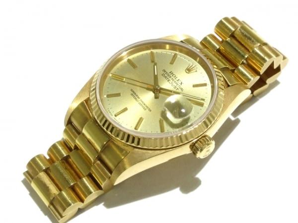 ROLEX(ロレックス) 腕時計 デイトジャスト 16018 メンズ ゴールド 8