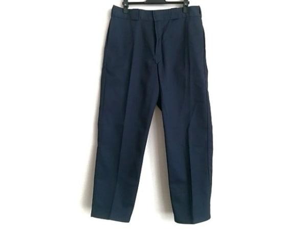 ディッキーズ パンツ サイズ3 L メンズ美品  ネイビー BEDWIN/DEFACTO STANDARD