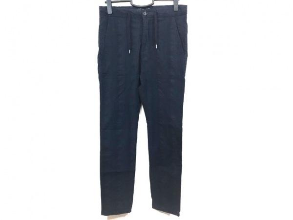 ジェイダブリューブライン パンツ サイズ44 L メンズ美品  ネイビー×ブルー