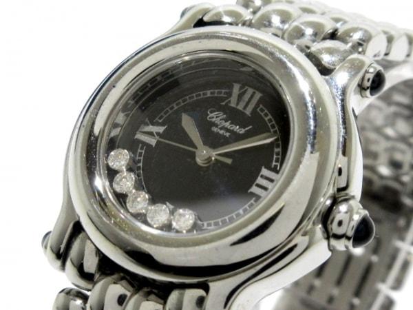 ショパール 腕時計 ハッピースポーツ 27/8250-23 レディース SS/5Pムービングダイヤ