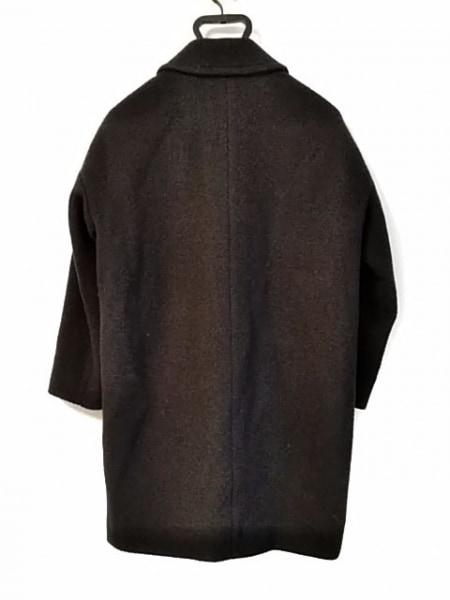 aquagirl(アクアガール) コート サイズ36 S レディース 黒 冬物