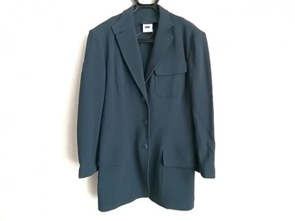 DKNY(ダナキャラン) ジャケット サイズ4 XL レディース ネイビー