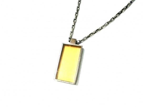 GUCCI(グッチ) ネックレス - シルバー×カラーストーン LEO