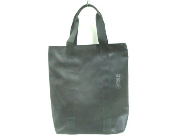 BREE(ブリー) ハンドバッグ 黒 PVC(塩化ビニール)