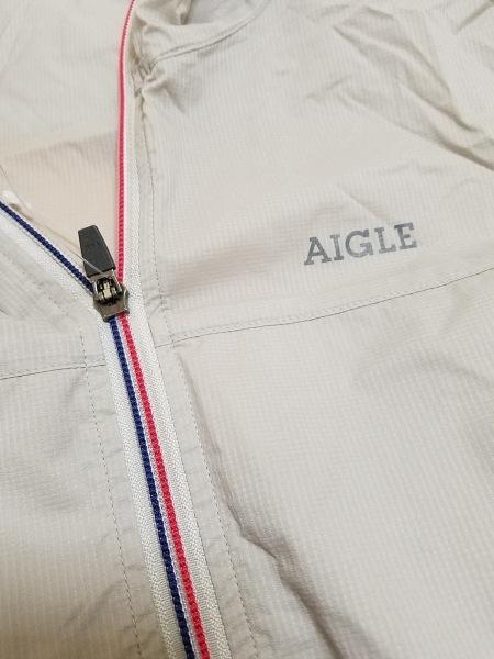 AIGLE(エーグル) ブルゾン サイズS メンズ ベージュ 春・秋物
