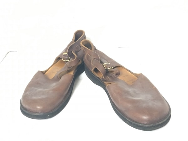 Aurora Shoes(オーロラシューズ) シューズ 7 2/1 レディース ダークブラウン レザー