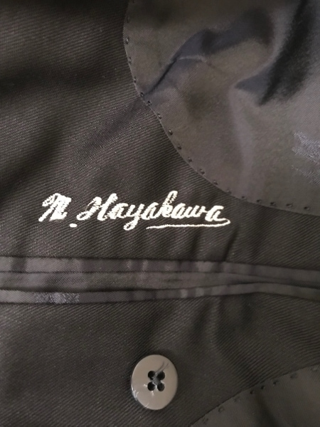 Burberry's(バーバリーズ) ジャケット メンズ ダークネイビー ネーム刺繍