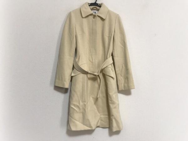 MICHELKLEIN(ミッシェルクラン) コート サイズ40 M レディース美品  アイボリー 冬物