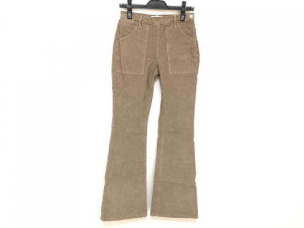 FRAME DENIM(フレーム デニム) パンツ サイズ26 S レディース ブラウン コーデュロイ