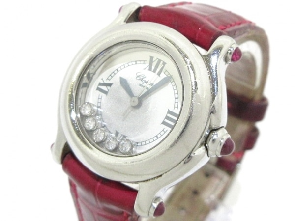 Chopard(ショパール) 腕時計 ハッピースポーツ 27/8245-21 レディース 白