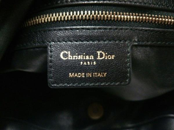 ChristianDior(クリスチャンディオール) ショルダーバッグ - 黒 レザー