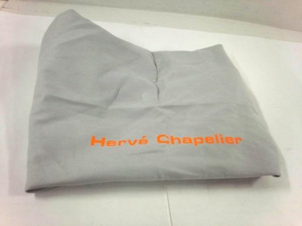 Herve Chapelier(エルベシャプリエ) トートバッグ ピンク×ダークブラウン GPライン