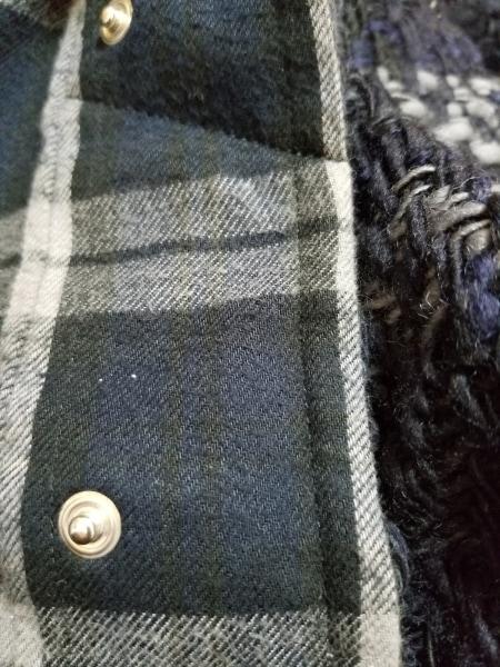 Sacai(サカイ) コート サイズ3 L レディース ネイビー 冬物