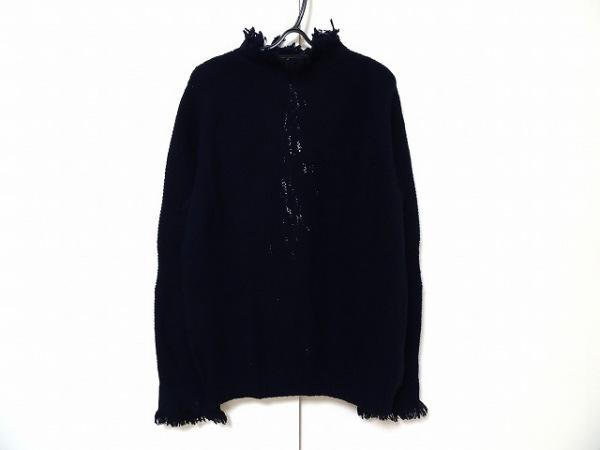 Sacai(サカイ) 長袖セーター サイズ3 L メンズ ネイビー