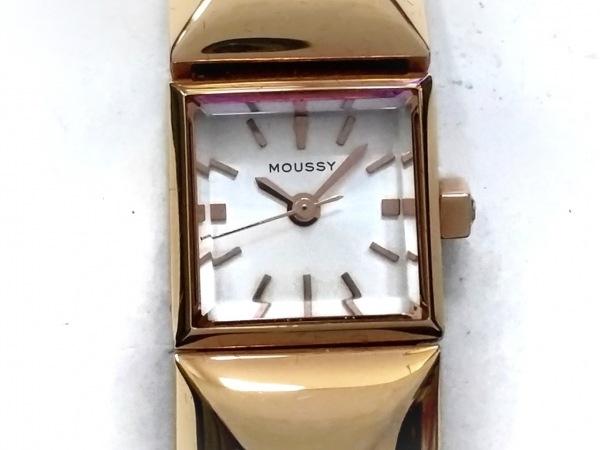 【中古】 マウジー moussy 腕時計 - レディース シルバー