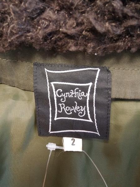 CYNTHIA ROWLEY(シンシアローリー) コート サイズ2 S レディース カーキ 冬物