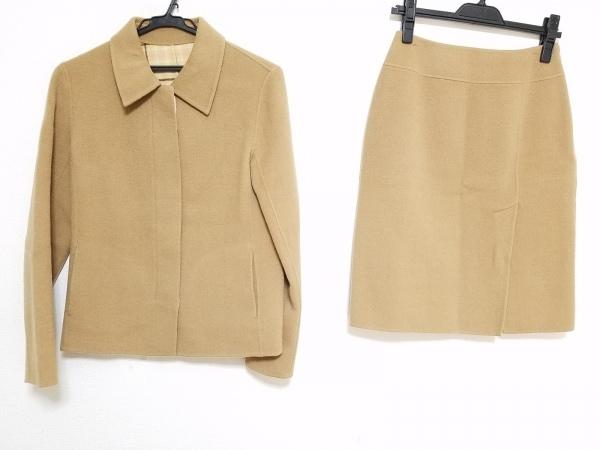 クミキョク スカートスーツ サイズ2 M レディース ライトブラウン sis