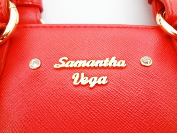 Samantha Vega(サマンサベガ) ハンドバッグ レッド 合皮