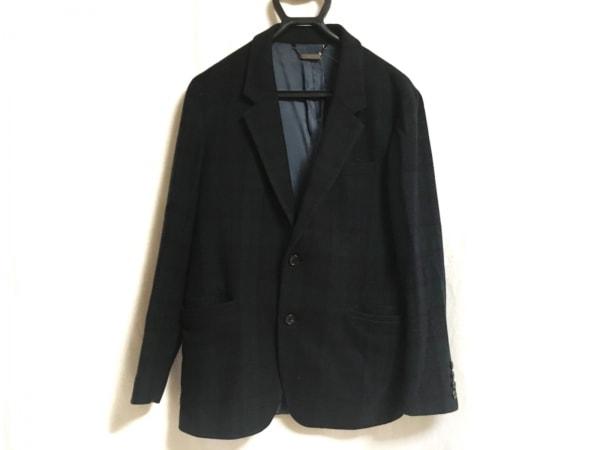 モンキータイム ジャケット サイズ1 S メンズ ダークグリーン×ダークネイビー×黒