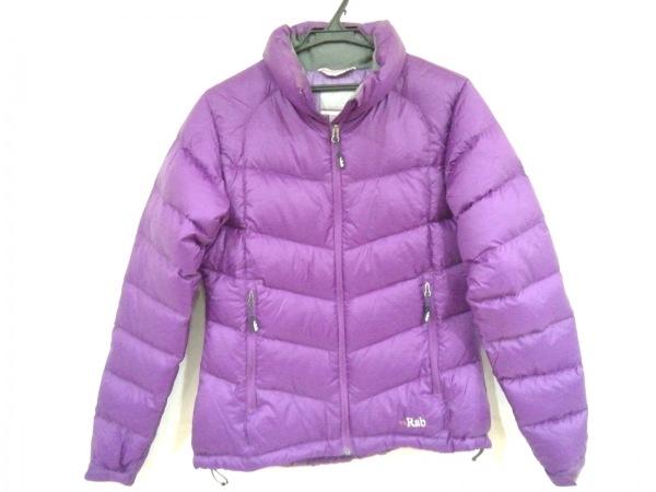 Rab(ラブ) ダウンジャケット サイズ11 M レディース美品  パープル 冬物