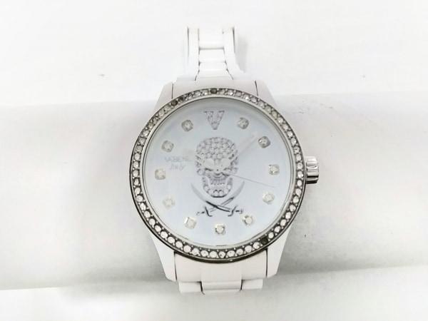 VABENE(ヴァベーネ) 腕時計 - レディース ラインストーンベゼル 白