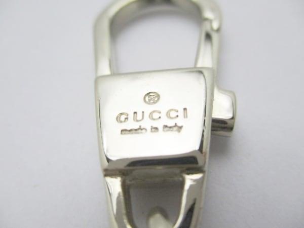 GUCCI(グッチ) キーホルダー(チャーム) - ゴールド ブーツ/バッグ 金属素材
