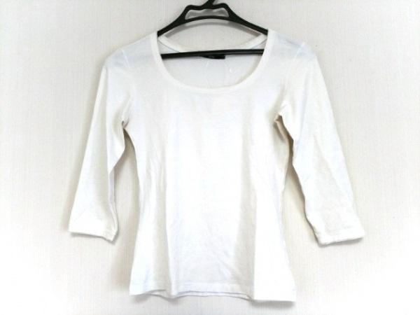 HUGOBOSS(ヒューゴボス) 七分袖Tシャツ レディース アイボリー