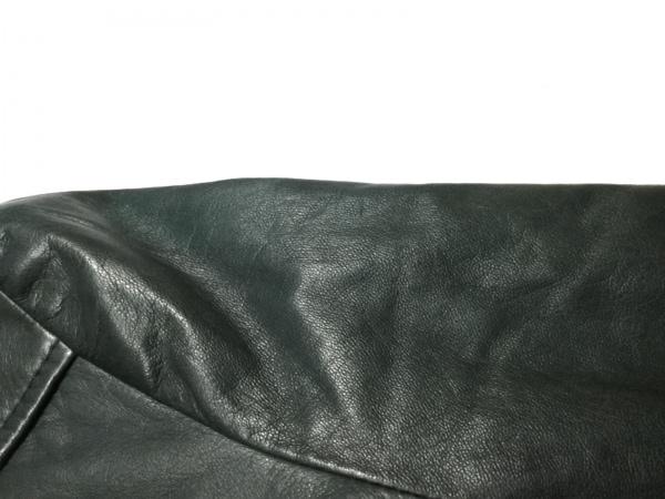 BALENCIAGA(バレンシアガ) コート サイズ40 M レディース ダークグリーン レザー/冬物