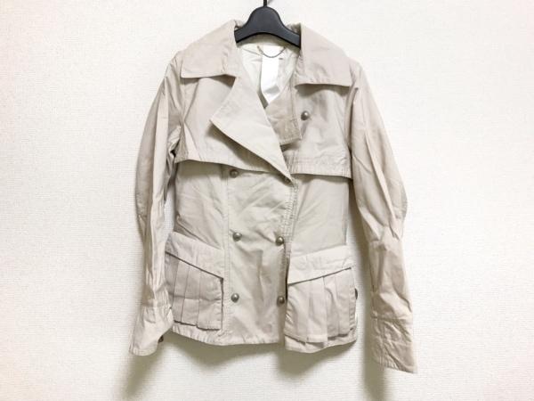 CBY(シービーワイ) コート サイズ42 L レディース アイボリー 春・秋物/+WHITE