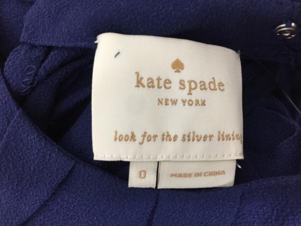 Kate spade(ケイトスペード) ワンピース サイズ0 XS レディース ネイビー