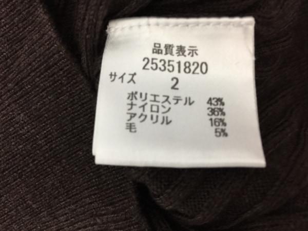 アプワイザーリッシェ 長袖セーター サイズ2 M レディース美品  ダークブラウン
