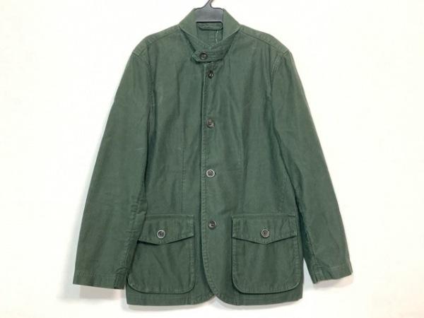 ヘンリーコットンズ ジャケット サイズ46 XL メンズ カーキ コーディロイ