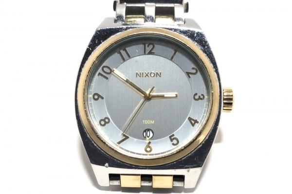 NIXON(ニクソン) 腕時計 13G1 メンズ シルバー