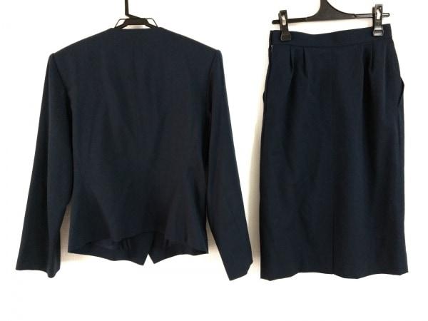 YvesSaintLaurent(イヴサンローラン) スカートスーツ レディース美品  ダークネイビー