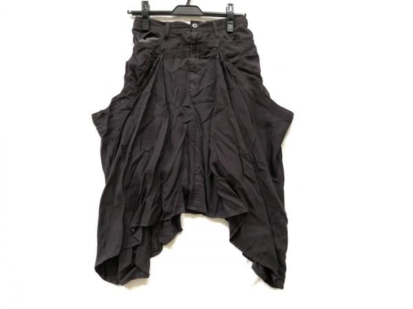 gomme(ゴム) スカート サイズM レディース ダークグレー