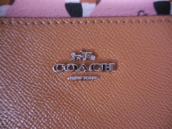 COACH(コーチ) ショルダーバッグ美品  - F26149 ブラウン レザー