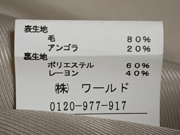 UNTITLED(アンタイトル) コート サイズ2 M レディース ベージュ 冬物/ショート丈