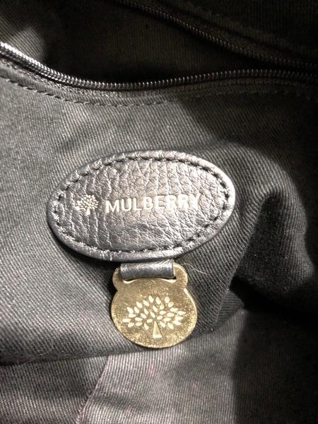 MULBERRY(マルベリー) ハンドバッグ - 黒×ダークブラウン レザー